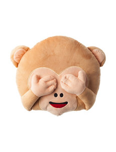 Emoji Pals See No Evil Monkey Emoji Pillow