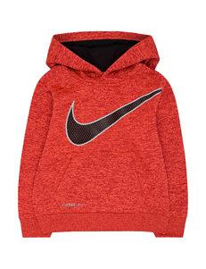 Nike® Swoosh Mesh Hoodie – Boys 4-7