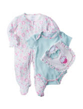 Laura Ashley 3-pc. Cupcake Sleep & Play Set - Baby 3-9 Mos.