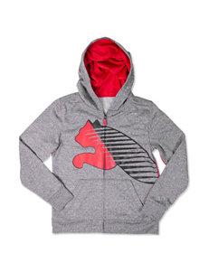 Puma® Multicolor Logo Hoodie - Boys 8-20