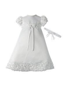 Lauren Madison White Baby Robes