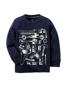 Carter's® Firetruck Items T-shirt - Toddler Boys