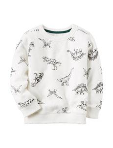 Carter's® Dino Print Shirt - Toddler Boys