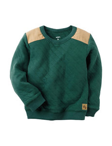 Carter's® Quilted Color Block Pullover Sweater - Boys 4-8