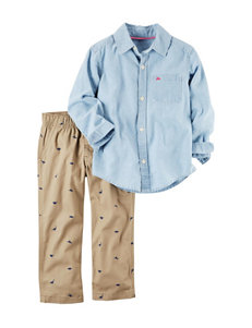 Carter's 2-pc. Shirt & Pamts Set - Baby - 9-24 Mos.