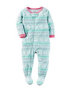 Carter's® Pastel Fair Isle Sleep & Play - Toddler Girls