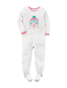 Carter's® Cat Print Sleeper - Girls 4-8