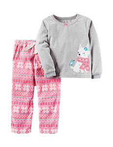 Carter's® 2-pc. Fair Isle Print Pajamas Set - Girls 4-8