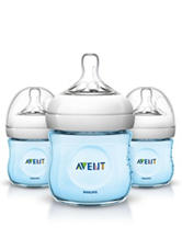 Philips Avent 3-pc. Natural 4-oz. Baby Bottle - Blue