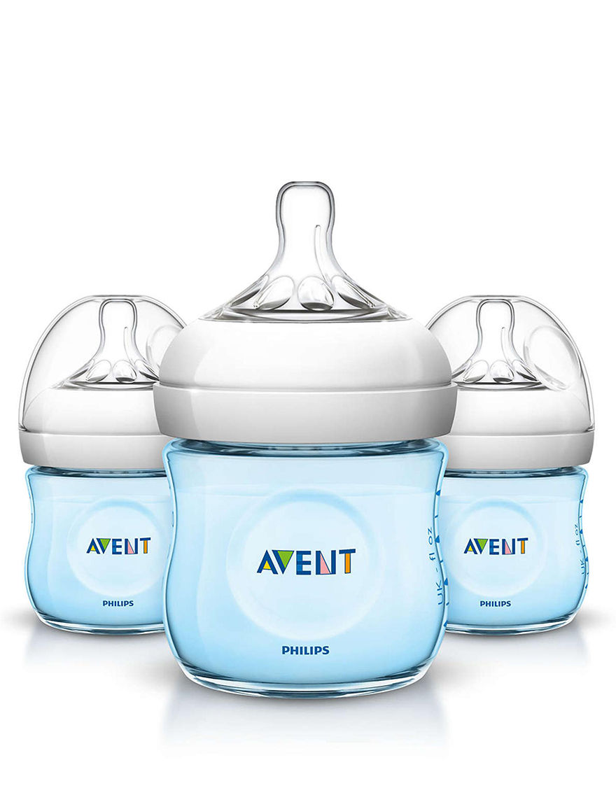 Philips Avent Blue Bottle Feeding