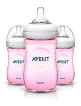 Philips Avent 3-pc. Natural 9-oz. Baby Bottle - Pink