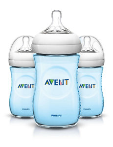 Philips Avent 3-pc. Natural 9-oz. Baby Bottle - Blue