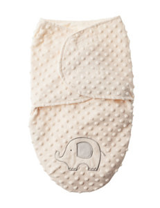Baby Gear Elephant Popcorn Swaddle - Baby 0-6 Mos.