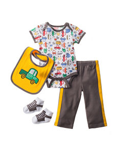 Baby Gear 4-pc. Cars Printed Pants Set - Baby 0-12 Mos.