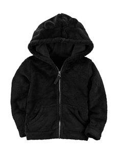 Carter's Black Fleece & Soft Shell Jackets