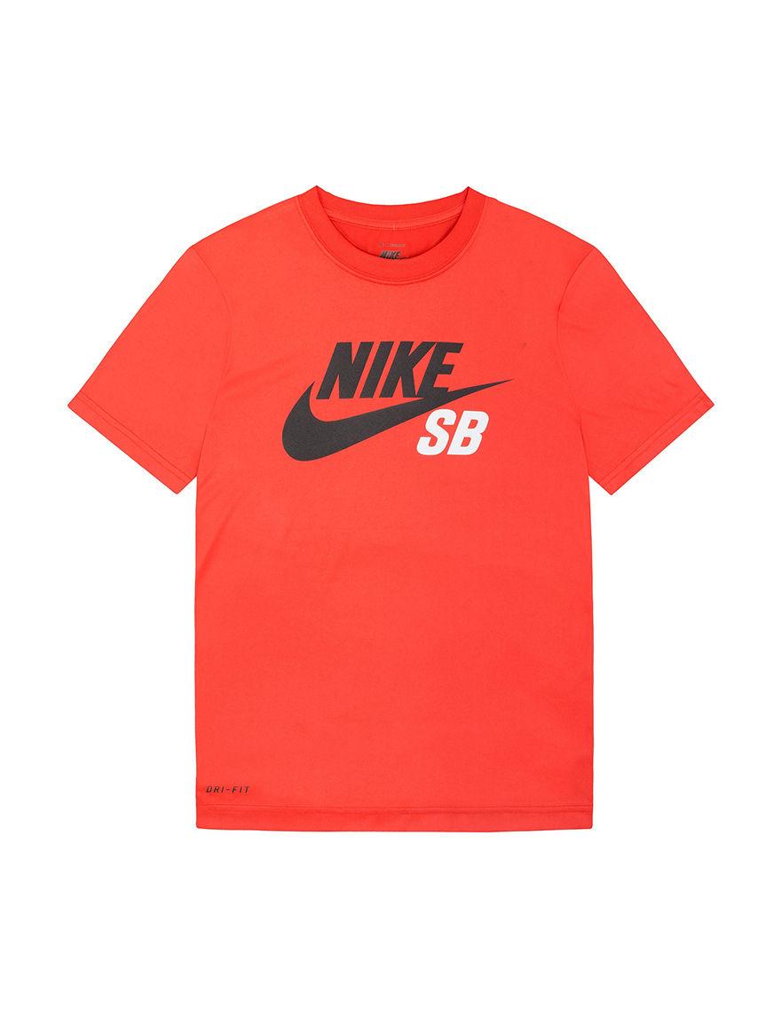 Nike nike sb logo t shirt boys 8 20 stage stores for Nike sb galaxy shirt