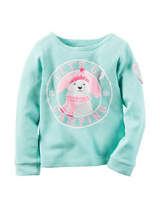 Carter's® Let's Go Camping Thermal Top - Girls 4-8