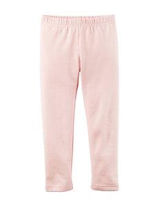 Carter's® Light Pink Fleece Leggings – Toddler Girls