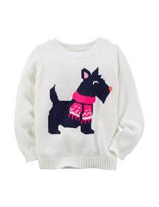 Carter's® Scotty Dog Sweater - Girls 4-8
