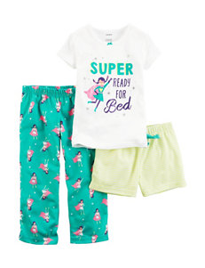 Carter's 3-pc. Super Ready for Bed Pajama Set - Baby 12-24 Mos.