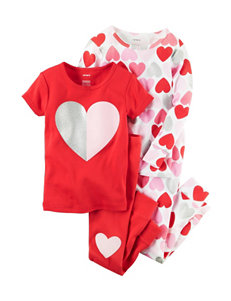 Carter's 4-pc. Heart Pajama Set - Baby 12-24 Mos.