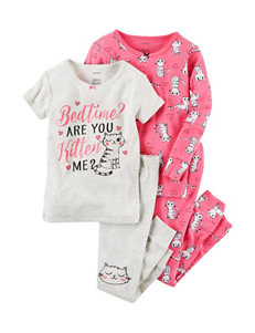 Carter's 4-pc. Are You Kitten Me Set - Baby 12-24 Mos.