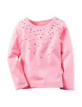 Carter's® Rainbow Rhinestone Top - Toddler Girls