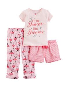 Carter's 3-Pc. Little Dancer Big Dreams Pajamas Set - Baby 12-24 Mos.