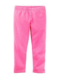Carter's® Pink Fleece Leggings – Toddler Girls
