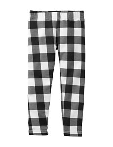 Carter's® Buffalo Plaid Print Leggings – Toddler Girls