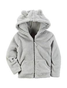 Carter's® Grey Jacket - Toddler Girls