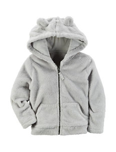 Carters® Grey Jacket - Girls 4-8