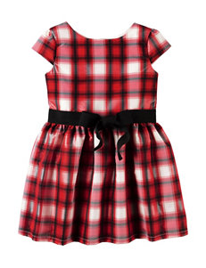 Carter's® Plaid Print Taffeta Dress - Toddler Girls