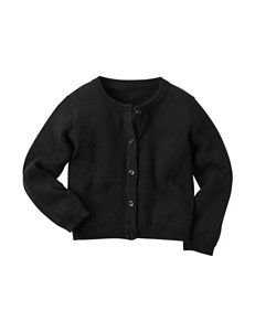 Carter's® Black Classic Cardigan - Toddler Girls