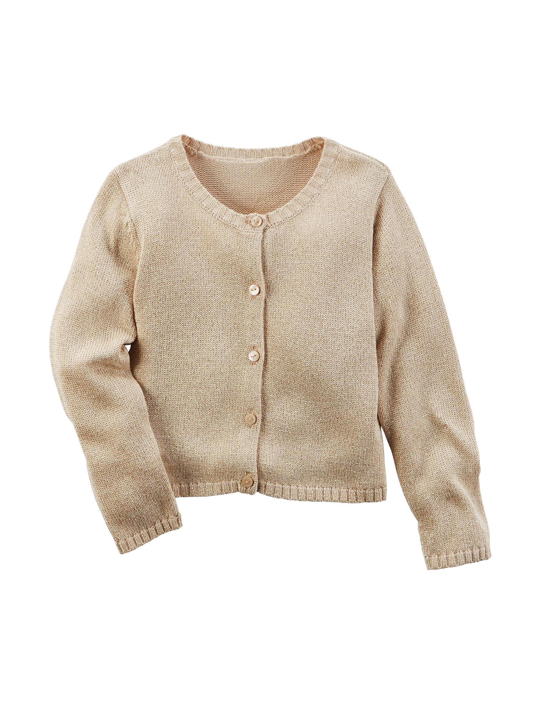 Carter's 01Beige Sweaters