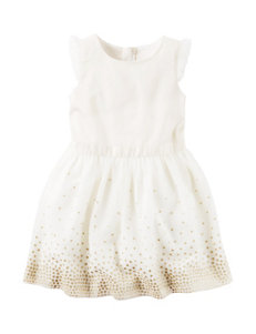 Carter's® Glitter Tulle Dress - Toddler Girls