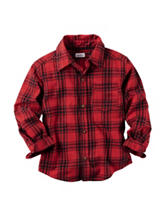 Carter's® Red Plaid Flannel Shirt - Toddler Boys