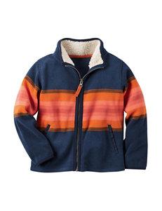 Carter's Stripe Fleece & Soft Shell Jackets