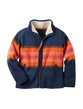 Carter's® Striped Print Fleece Jacket - Toddler Boys