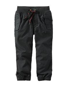 Carter's® Black Jersey Poplin Pants - Boys 4-8