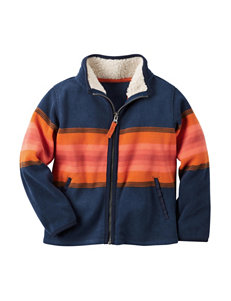 Carter's Stripe Fleece & Soft Shell Jackets