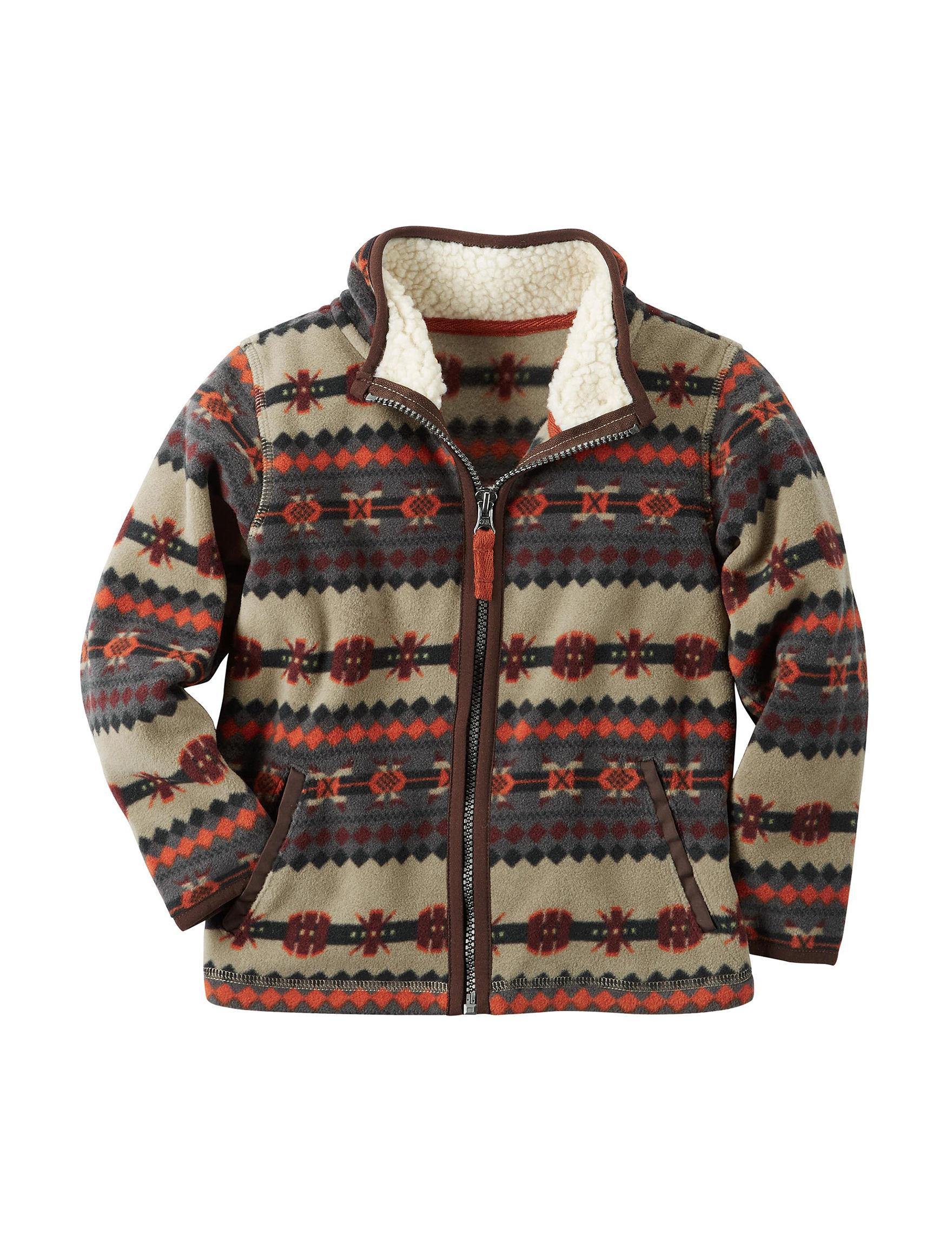 Carter's Print Fleece & Soft Shell Jackets