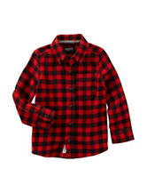 OshKosh B'gosh® Buffalo Plaid Flannel Woven Shirt - Toddler Boys