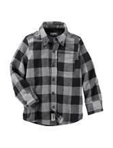 OshKosh B'gosh® Buffalo Plaid Woven Shirt - Toddler Boys