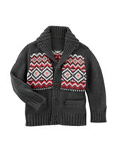 OshKosh B'gosh® Fair Isle Print Cardigan - Boys 4-7