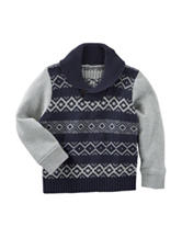 OshKosh B'gosh® Fair Isle Print Sweater - Boys 4-7