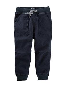 OshKosh B'gosh® Navy Twill Jogger Pants - Boys 4-7