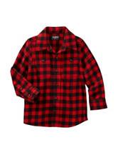 OshKosh B'gosh® Buffalo Check Plaid Print Shirt - Toddler Boys