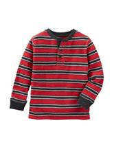 OshKosh B'gosh® Striped Henley Shirt - Toddler Boys