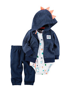 Carter's 3-pc. Monster Hoodie Set - Baby 3-18 Mos.